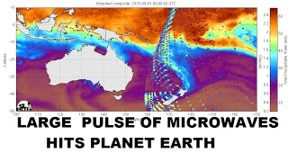Download 9/03/2015 - Large Microwave Energy Pulse hits planet Earth - Destroys storm near NZ Video