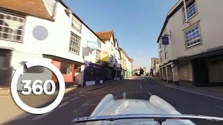Download Drop The Top And Motor Through the English Countryside in 360° VR! (360 Video) Video
