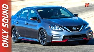 Download NEW NISSAN SENTRA NISMO 2017 - FIRST TEST DRIVE ON TRACK ONLY SOUND Video