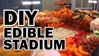 Download 🏈 DIY GIANT Edible Stadium Video