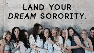 Download How to Get In Your Dream Sorority Video