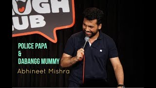 Download Papa Police & Dabangg Mummy I Stand-Up Comedy by Abhineet Mishra Video