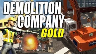Download Demolition Company Gold - Time to blow it up! Video