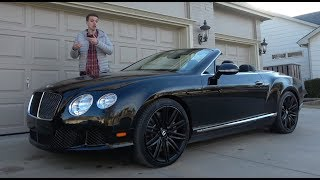Download This 2014 Bentley Continental GTC Speed Depreciated Over $100,000 in 3 Years Video