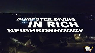 Download DUMPSTER DIVING IN RICH NEIGHBORHOODS Video