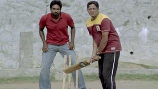 Download Most Funny Scene   Vijay's Cricket Play With Friends - Naduvula Konjam Pakkatha Kaanom Movie Scene Video