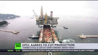 Download OPEC reaches deal to cut production by 1.2 million barrels Video
