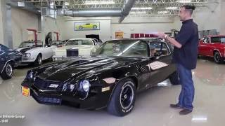 Download 78 CHEVROLET CAMARO Z/28 for sale with test drive, driving sounds, and walk through video Video