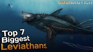 Subnautica - TAMING THE GHOST LEVIATHAN, HOW TO TAME & REAPER
