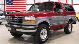 Download 1995 Ford Bronco Red gray Video