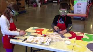 Download Home Depot Kids Workshop Video
