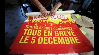 Download Grève du 5 décembre : SNCF et RATP annoncent des perturbations importantes Video
