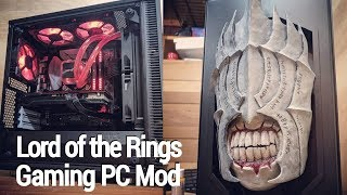 Download Modded Gaming PC: Lord of the Rings Case Mod Timelapse Video