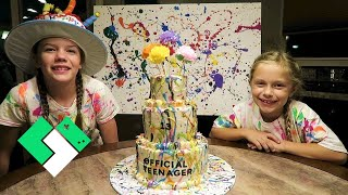 Download Splatter Paint Birthday Party! | Clintus.tv Video