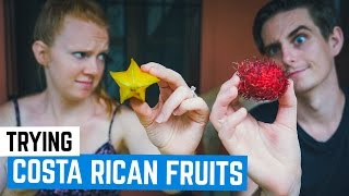 Download Americans Try Strange Costa Rican Fruits! Video
