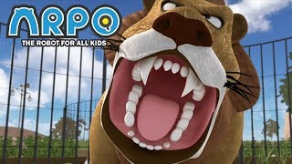 Download ARPO The Robot For All Kids - At The Zoo | Full Episode | Videos For Kids Video