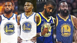 Download LeBron, Curry, Durant, Kyrie, Westbrook, Harden & Best NBA Players On The Same Team (Warriors) Video