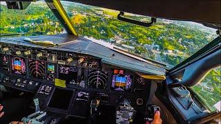 Download BEAUTIFUL Cockpit Landing at Vilnius - Boeing 737 Video