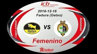 Download Rugby Femenino-Getxo Artea vs Autoconsa El Salvador (2018-12-16) Video