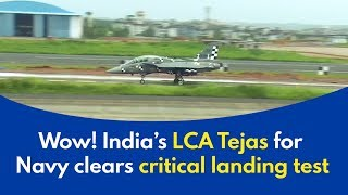 Download Tejas Arrested Landing: Tejas Naval version clears critical landing test - wow! Video