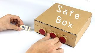 Download How to Make Safe Box with Combination Lock from Cardboard Video
