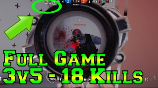 Download Full 3v5 Game - 18 Kills Comeback - Rainbow Six Siege Video