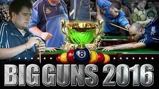 Download Mick Hill v Rusty Wheeler   Marc Robertson v James Delahunty   SEMIS   Big Guns 8 Ball 2016 Video