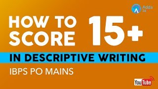 Download How To Score 35+ In Descriptive Writing | IBPS PO MAINS Video