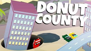 Download HUGE HOLES Eat A TOWN! - Donut County Video