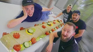 Download Fed Hi5 Studios With A 100 Pound Burrito! Video
