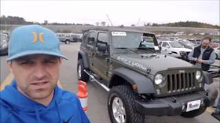 Download How much is a Jeep Wrangler at a Dealer Only Auction ? Video