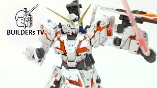 Download This Little Gunpla Can Transform?! - RG UNICORN GUNDAM Speed Build Up (RG 유니콘 건담빠른 조립 리뷰) Video