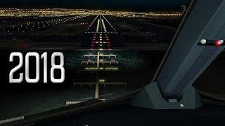 Download New Flight Simulator 2018 | Spectacular Approach and Landing at San Francisco [Ultra Realism] Video