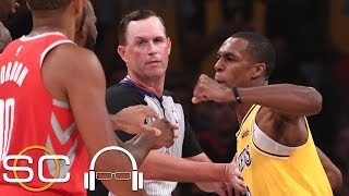 Download Did Rondo spit on Chris Paul? Was Brandon Ingram justified in shoving James Harden? | SC with SVP Video