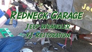 Download Jeep Wrangler YJ Front End Rebuild #1 w/ Ball Joints Video