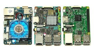 Download ODROID-XU4 vs Tinker Board & Raspberry Pi 3 Video