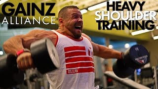 Download Heavy Shoulders with Doug Miller, Sean Torbati and Marc Lobliner Video