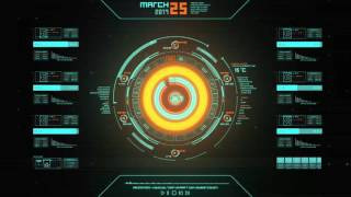 Download Futuristic OS HUD UI Animation Video