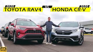 Download BEST FAMILY CUV! - 2020 Honda CR-V vs. 2020 Toyota RAV4: Comparison Video