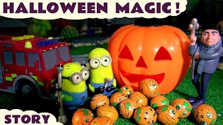Download Halloween Minions Magic with Gru Thomas & Friends and Tonka Trucks Toys and Cars for Kids Fun TT4U Video