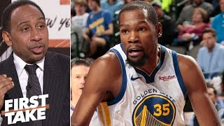 Download Stephen A. wants Kevin Durant to choose Knicks in free agency | First Take Video