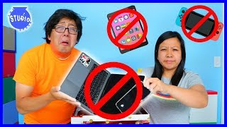 Download 24 Hours NO ELECTRONICS CHALLENGE! No Technology! NO PHONES! Video