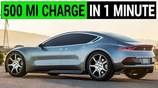 Download Fisker claims 1 minute to charge a 500 mile EV battery Video