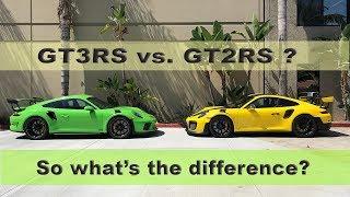 Download PORSCHE GT3RS vs GT2RS Video