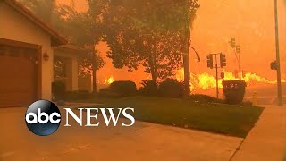 Download More homes in danger as California wildfire grows Video