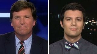 Download Tucker v student who says Trump shouldn't be given chance Video
