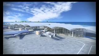 Download New Passenger Terminal at Ibrahim Nasir International Airport Male Republic of Maldives Video