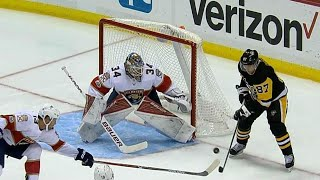 Download Gotta See It: Crosby swats puck out of mid-air to score on Reimer Video