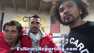 Download JESUS CUELLAR DENIES TRASH TALK OF ABNER MARES; DECLARES VICTORY WILL BE HIS!! - EsNews Boxing Video
