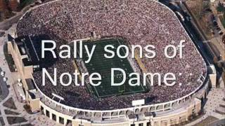 Download Notre Dame Victory March with lyrics Video
